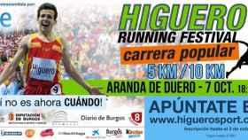 cartel higuero running festival aranda 1