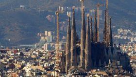 Imagen exterior de la Sagrada Familia