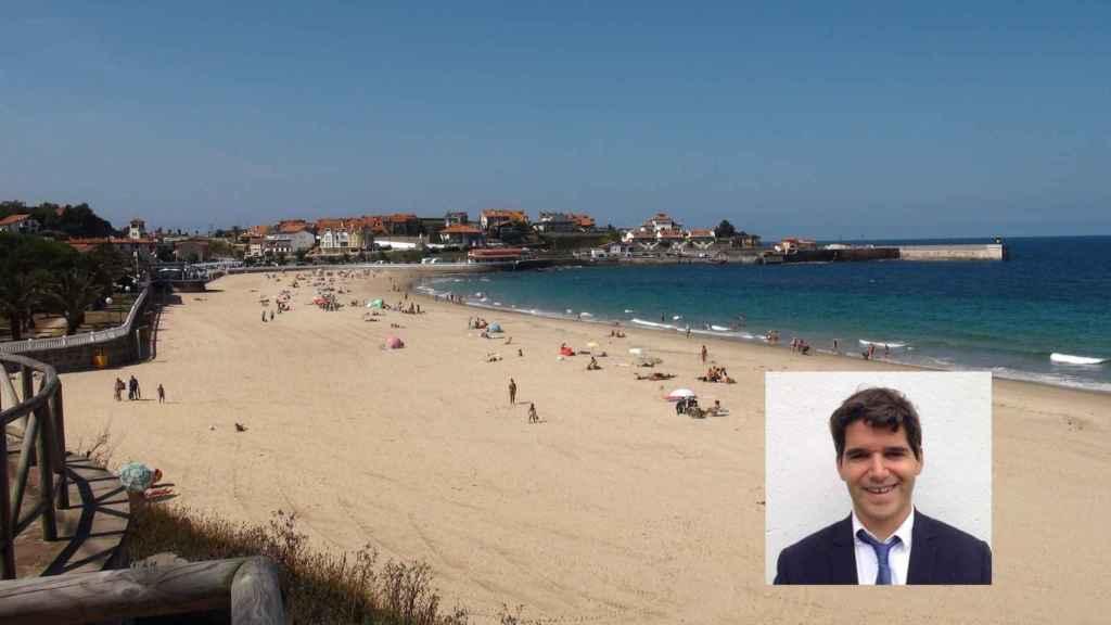 Echeverría pasaba todos los veranos en la playa de Comillas.