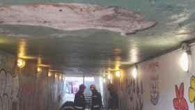 Valladolid-bomberos-asegurar-tunel-la-pilarica