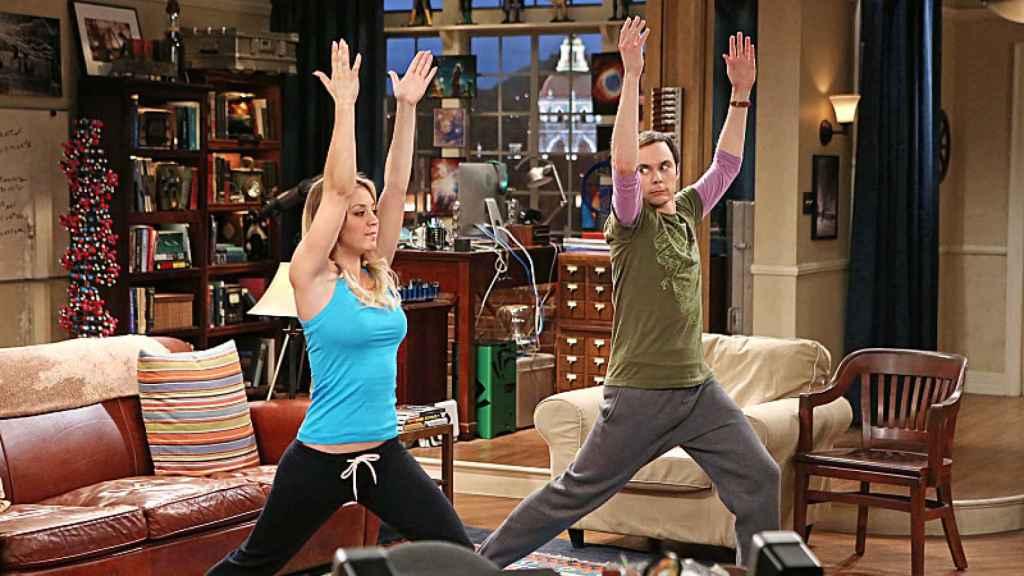 Escena de la serie The Big Bang Theory.