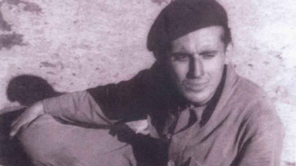 Jaime Peñafiel, con 21 años, en su época de picador.