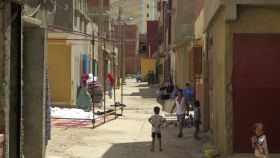 Una de las calles de Mrirt.