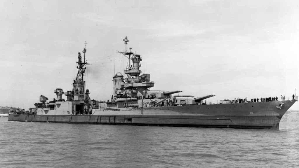 Buque USS Indianápolis.
