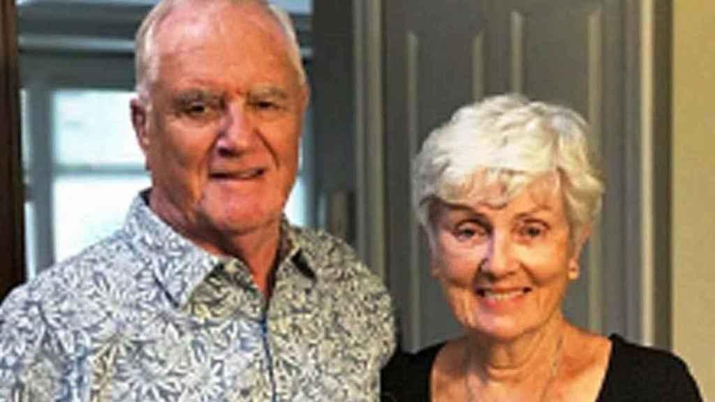 Ian Moore Wilson y su mujer.