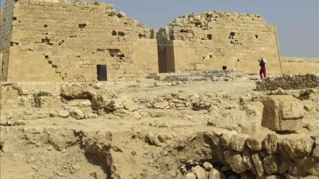 Excavación del templo Taposiris Magna