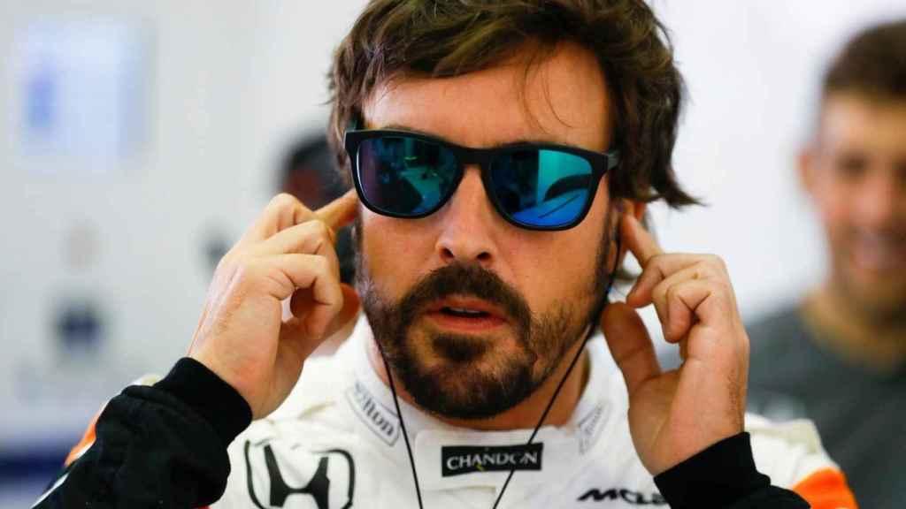 Fernando Alonso, durante su etapa en McLaren Honda