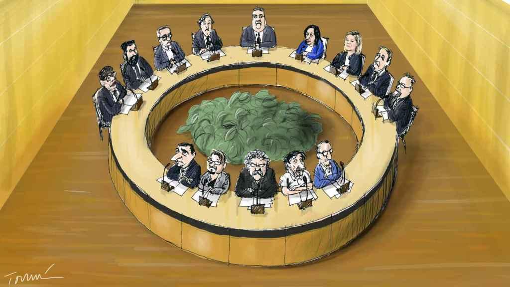 La Mesa del pacto antiyihadista.