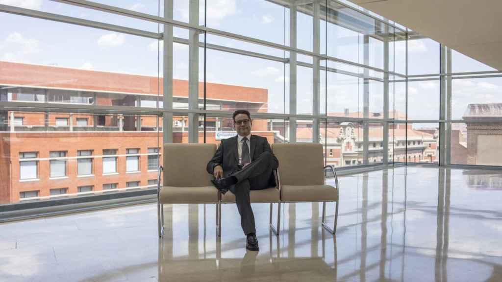 El oncólogo Miguel Martín, en el Hospital Gregorio Marañón.