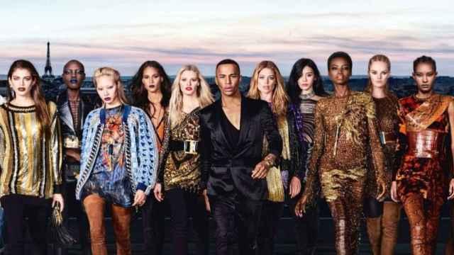 La belleza de las mujeres de Rousteing son la imagen de la campaña de L'Oréal x Balmain. | Foto: L'Oréal y Balmain.