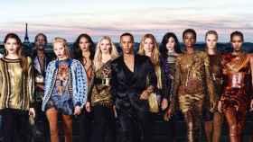 La belleza de las mujeres de Rousteing son la imagen de la campaña de L'Oréal x Balmain.   Foto: L'Oréal y Balmain.