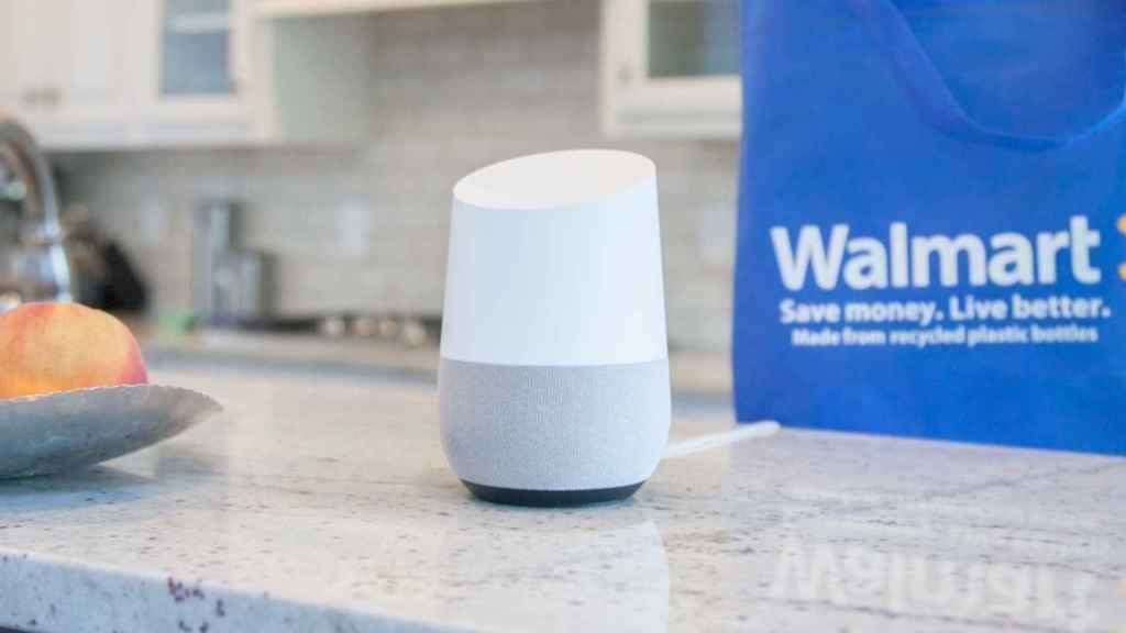 Walmart competirá con Amazon en las compras por voz.