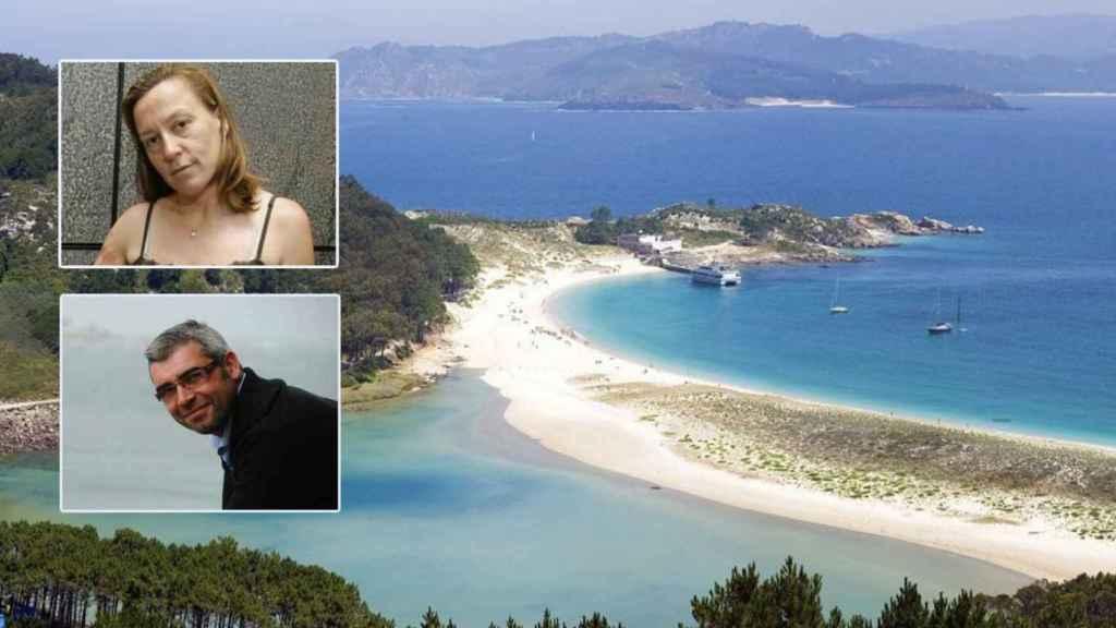 Nabia y Mar de Ons son las dos mayores empresas de traslado de viajeros a las islas Cíes y de Ons.