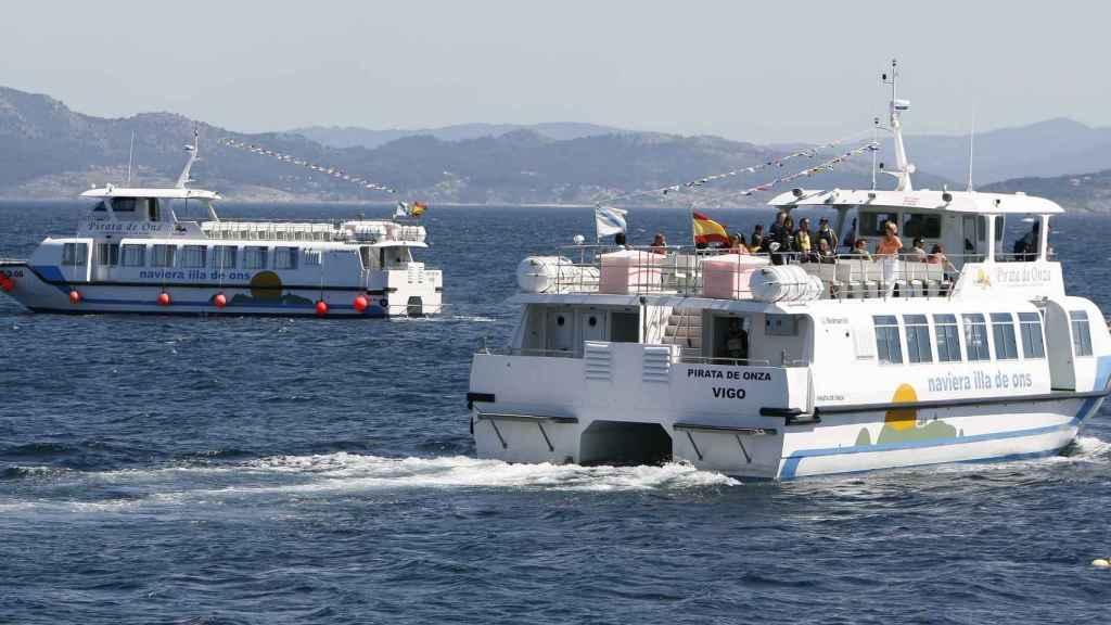 Una de las embarcaciones de Nabia.