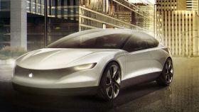 Concepto de un coche hecho por Apple.