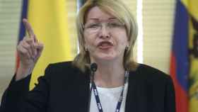 Luisa Ortega durante su intervención en la reunión de Mercosur.
