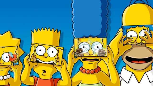 Los Simpson dibujados con un sujetador: el arte moderno es esto