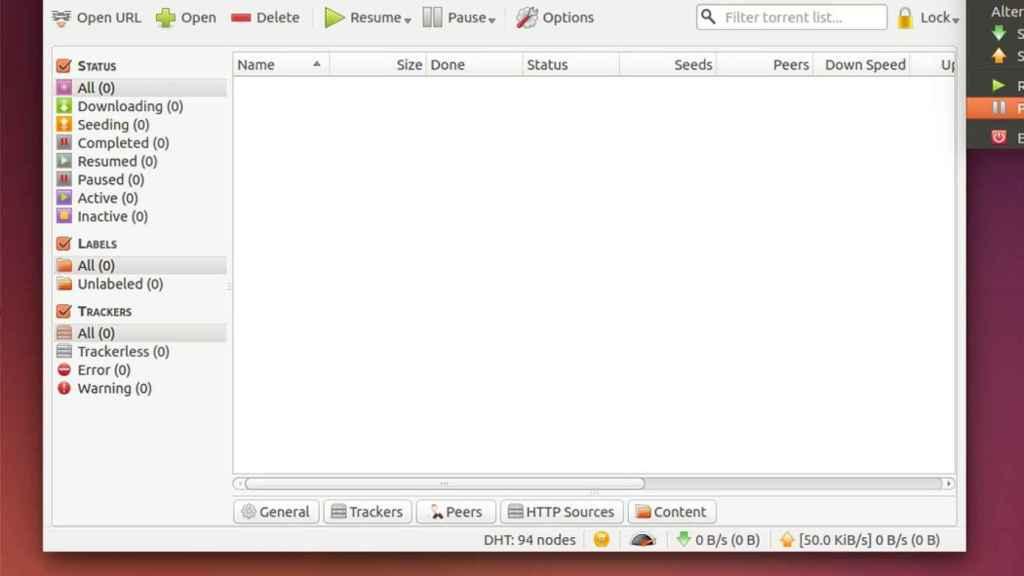 qbittorrent ubuntu cliente torrent linux