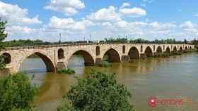 zamora puente de piedra