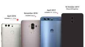 Huawei insinúa en una imagen oficial el futuro Huawei Mate 10 y ataca a Samsung