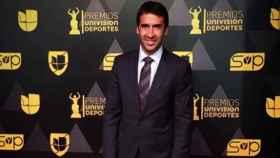 Raul González durante una gala de premios. Foto: Instagram (@raulgonzalez)