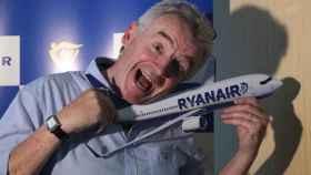 Michael O´Leary, consejero delegado de Ryanair durante su rueda de prensa en Madrid.