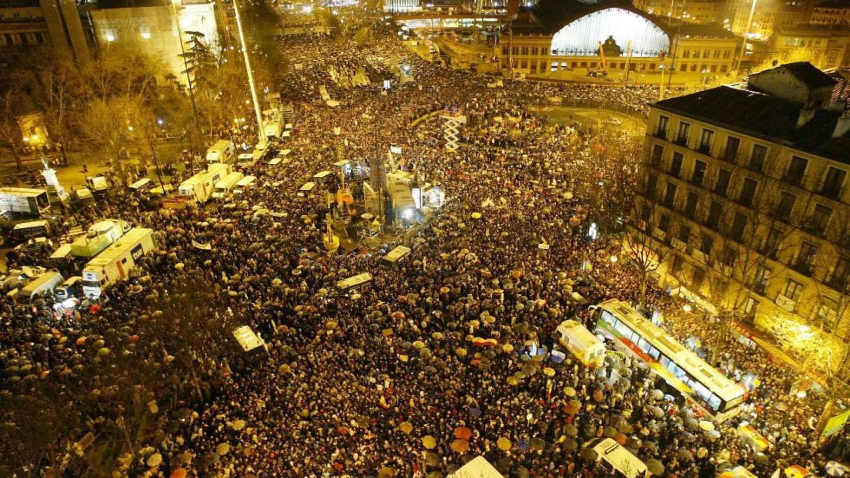 Las manifestaciones más multitudinarias de la historia de España