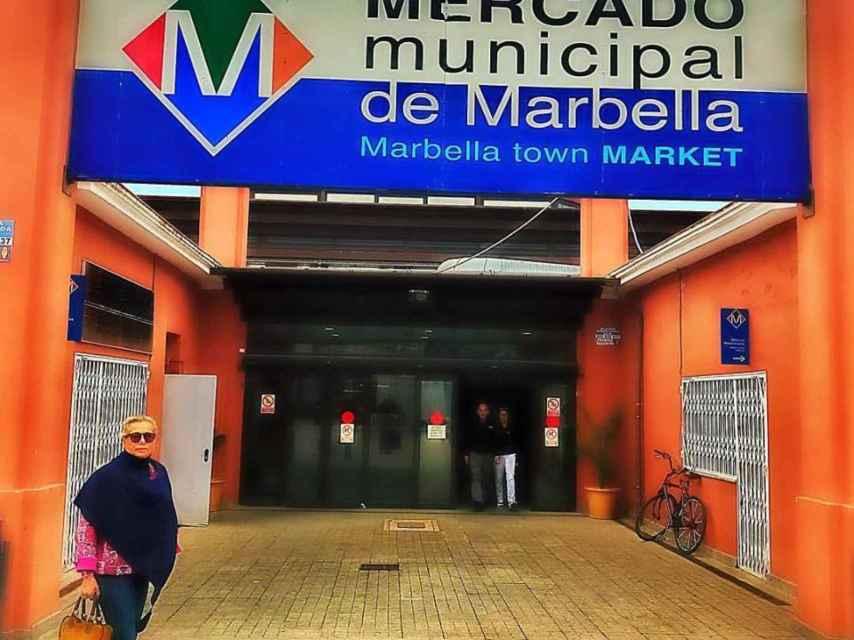 El mercado de abastos donde está situado el gastrobar de Mayte.
