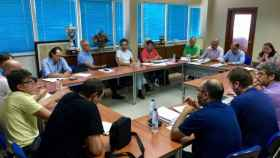 reunion auvasa ayuntamiento valladolid huelga 1