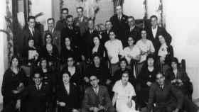 La numerosa familia Barnés-González