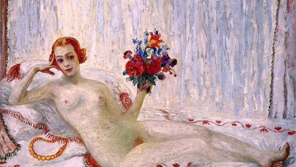 Una modelo, primer autorretrato desnudo de la historia del arte.