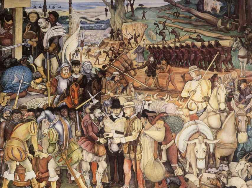 La conquista española de américa