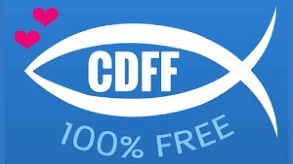 Este es el logo de la aplicación Christian Dating For Free. Durante una semana, nos metemos de lleno en ella.