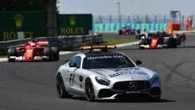 El 'safety car' en uno de los Grandes Premios de la F1.