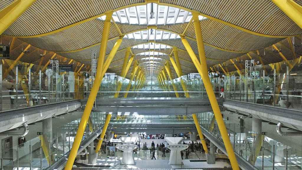 Imagen de archivo del aeropuerto de Madrid Barajas.