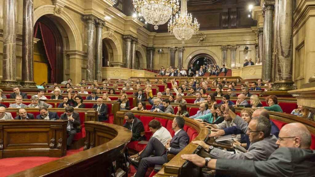 Sesión del Parlament de Cataluña.