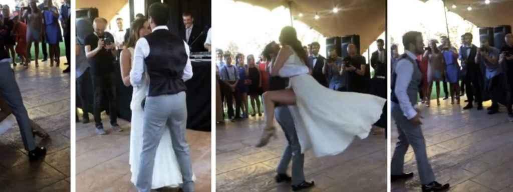 Momento del baile nupcial