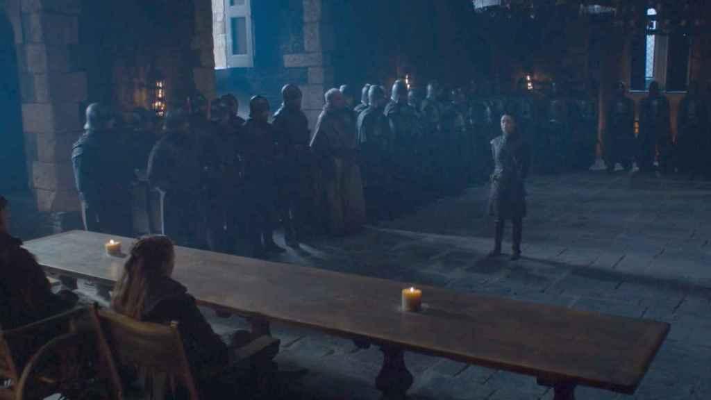 Arya es requerida por su hermana Sansa