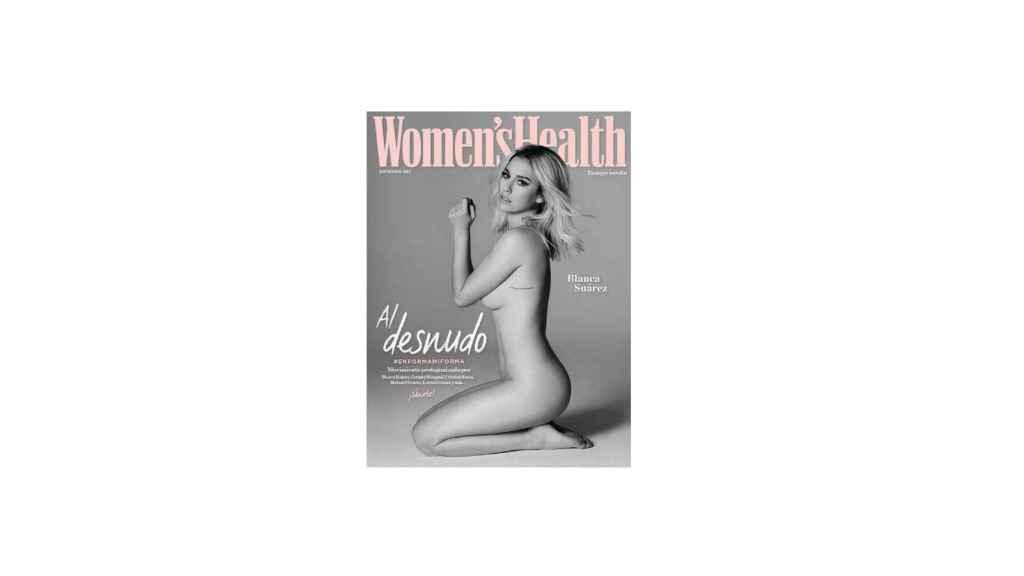 Blanca Suárez se desnuda para la portada