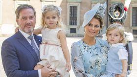 Magdalena de Suecia está embarazada de su tercer hijo
