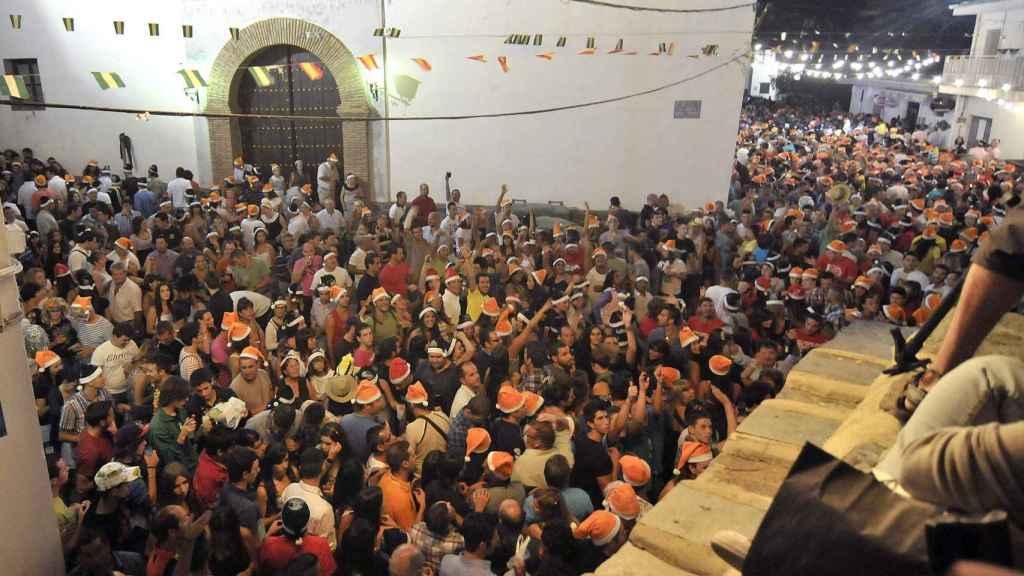 En Bérchules (Granada) el último día del año se celebra en agosto.