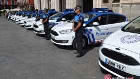 policia municipal valladolid coches vehiculo 11