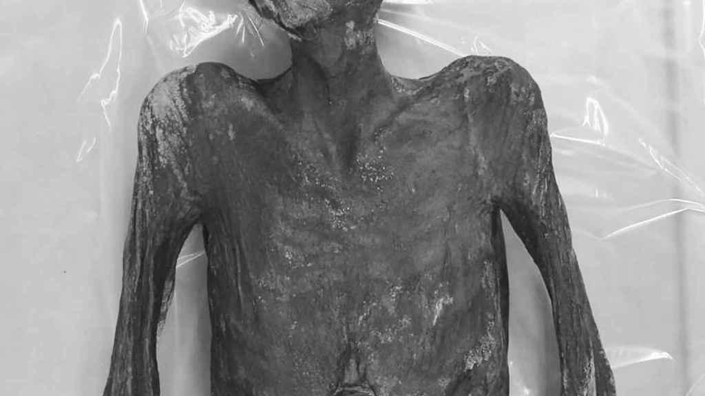 La momia de Cheongdo, que en vida fue Jing Lee.