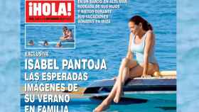 Isabel Pantoja, en la portada de la revista Hola.