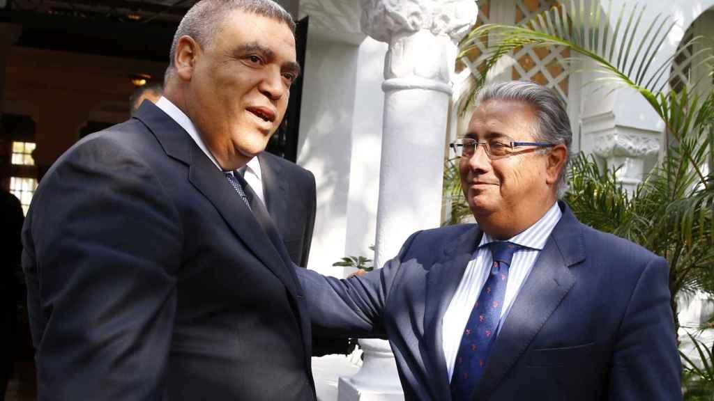 Abdeluafi Laftit y Juan Ignacio Zoido.