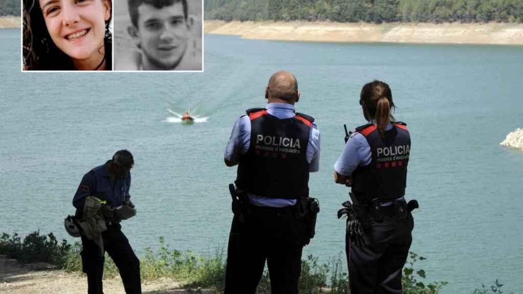 Paula Mas y Marc Hernández desaparecieron en una jornada de kayak en Susqueda.