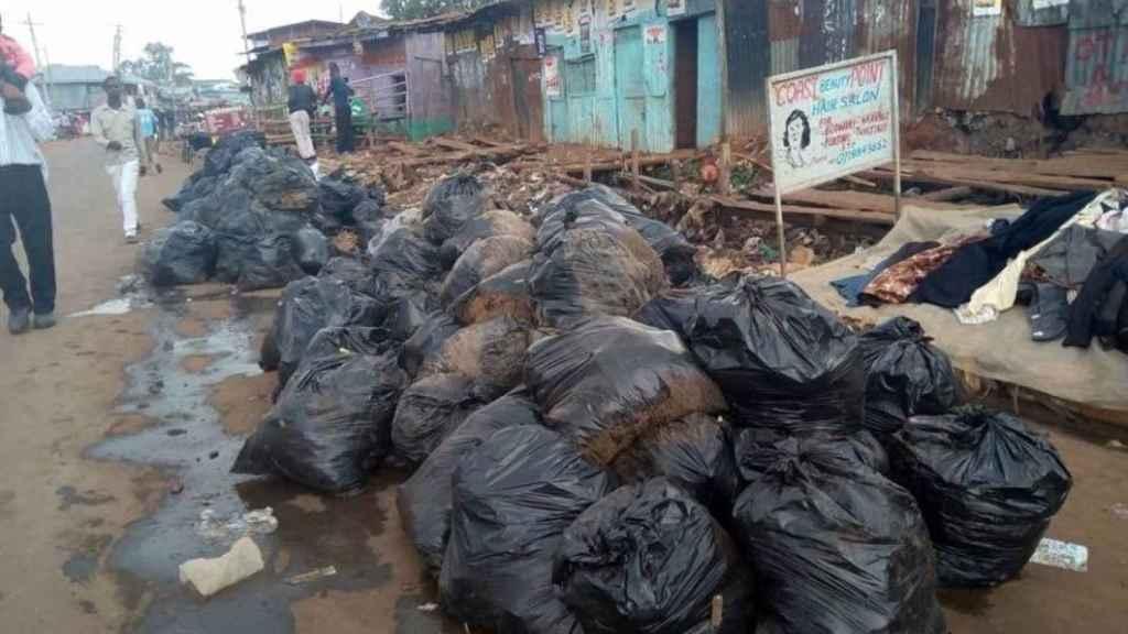 Kenia acumula grandes cantidades de basura.