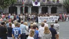 Concentración contra la violencia machista el pasado 25 de agosto.