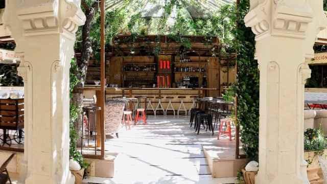 La terraza de Manzana 330 es un oasis en pleno centro de Madrid. | Foto: Manzana 330.
