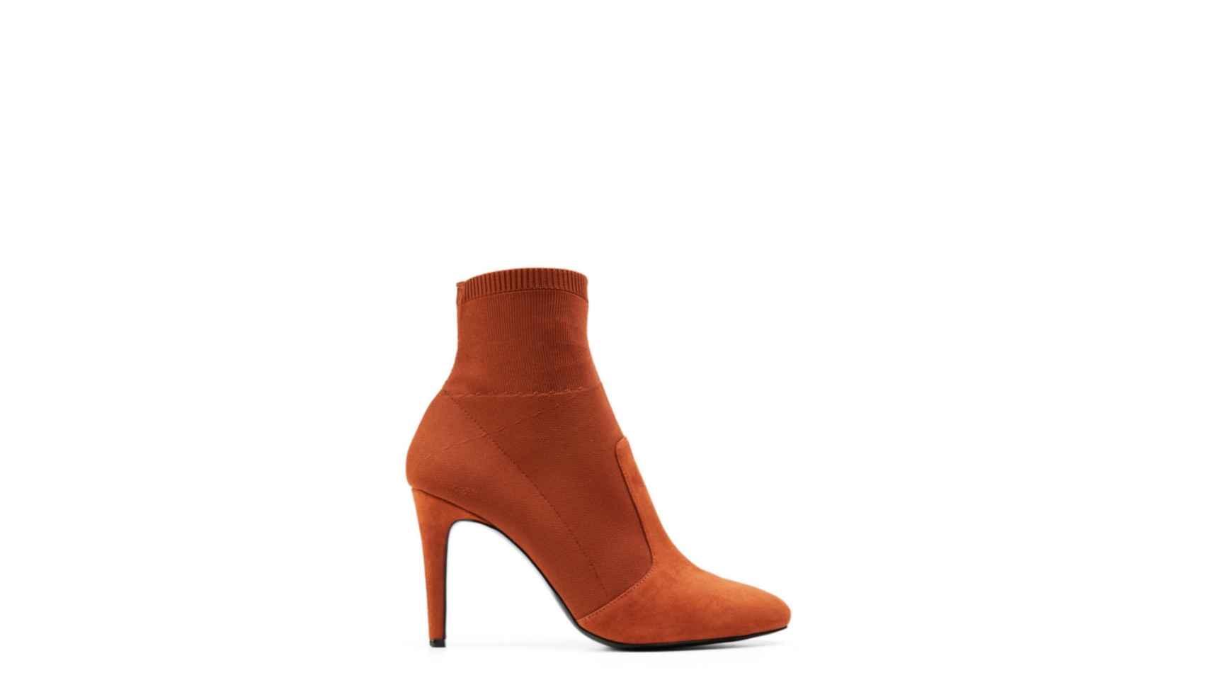 Tendencia: botín calcetín